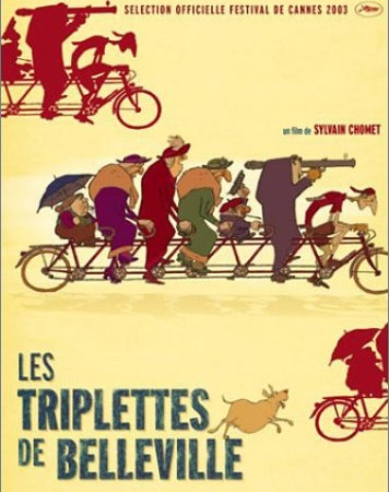 Les triplettes de Belleville - The Triplets of Belleville (2003)