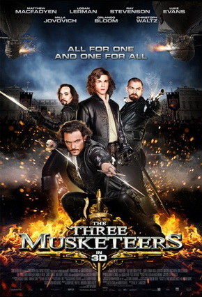 Tri musketara - The Three Musketeers (2011)