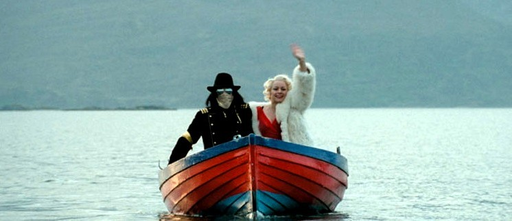Michael Jackson and Marilyn Monroe in Mister Lonely