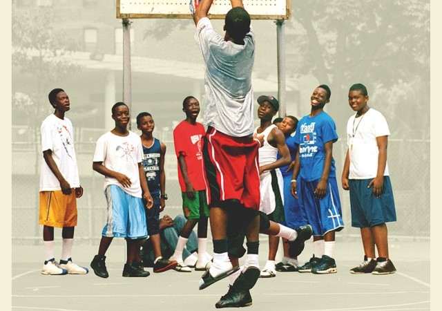 Doin' it in the Park: Pick-Up Basketball, NYC (2012)